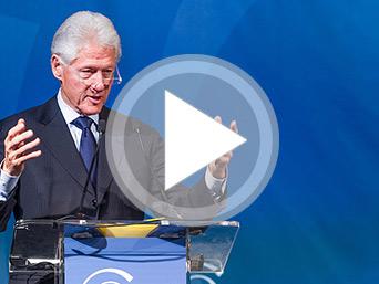 President Bill Clinton Video